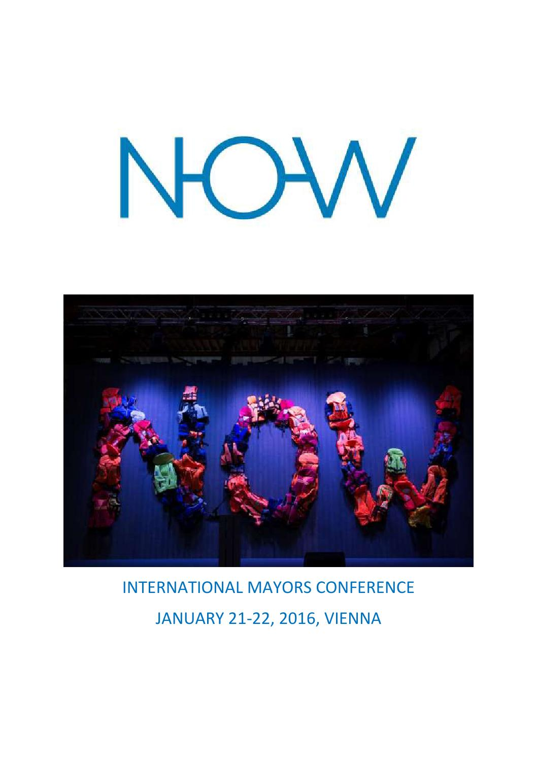 N O W Conference Press Review By Bruno Kreisky Forum Issuu