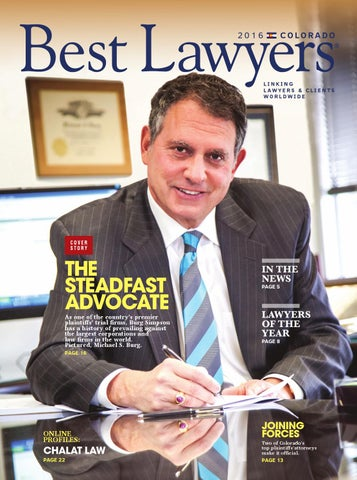Best Lawyers in Colorado 2016 by Best Lawyers - Issuu