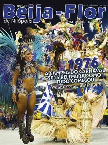 Revista Beija-Flor de Nilópolis - nº 15   Ano 2016 by Widebrasil ... 9da16bcbead33