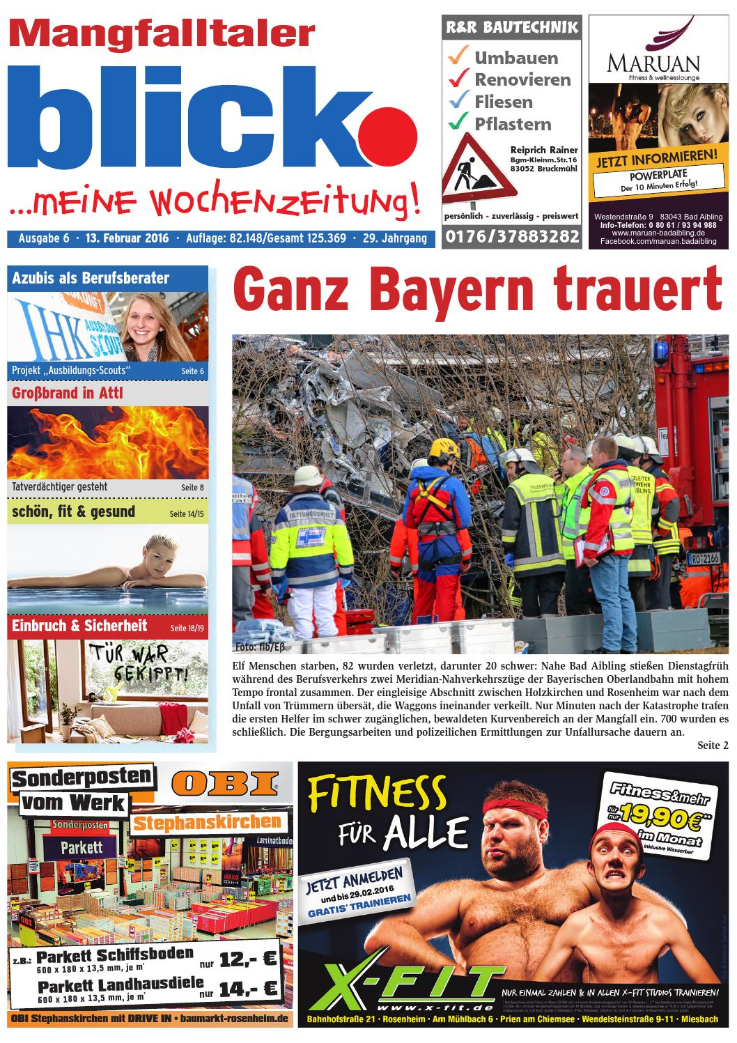 Mangfalltaler blick - Ausgabe 06   2016 by Blickpunkt Verlag - issuu