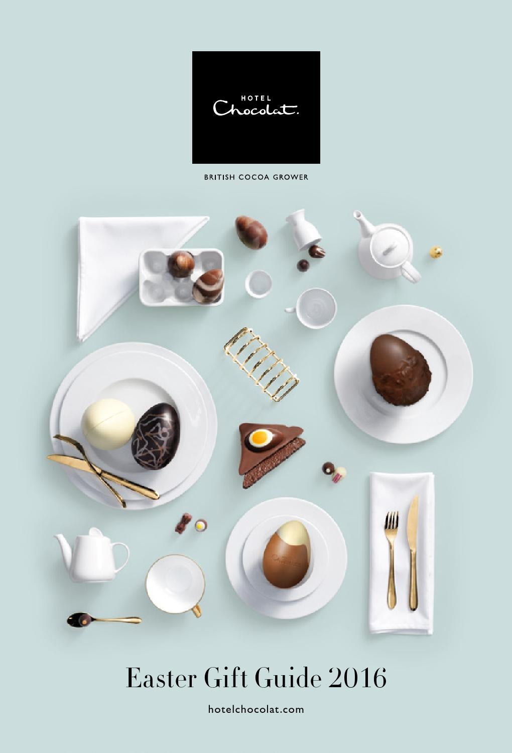 Hotel chocolat easter gift guide 2016 by hotel chocolat issuu negle Image collections