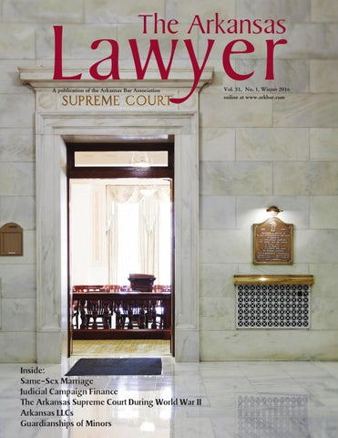 The arkansas lawyer winter 2016 by arkansas bar association issuu page 1 the arkansas malvernweather Gallery