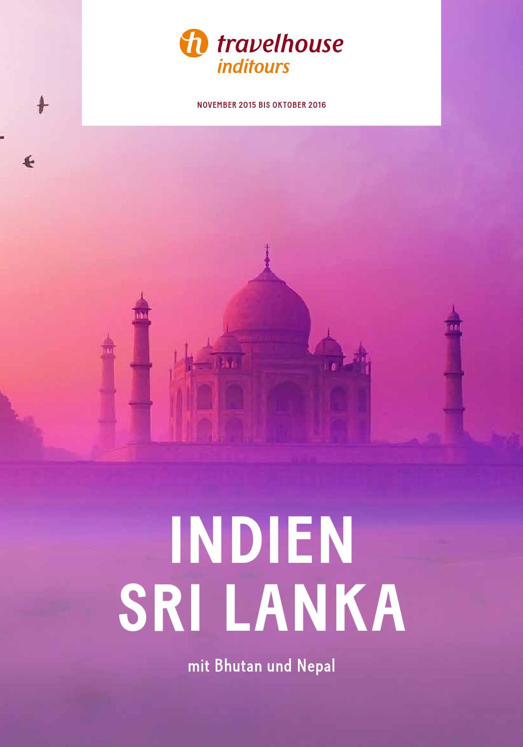 Travelhouse Indien, Sri Lanka - November 2015 bis Oktober 2016 by ...