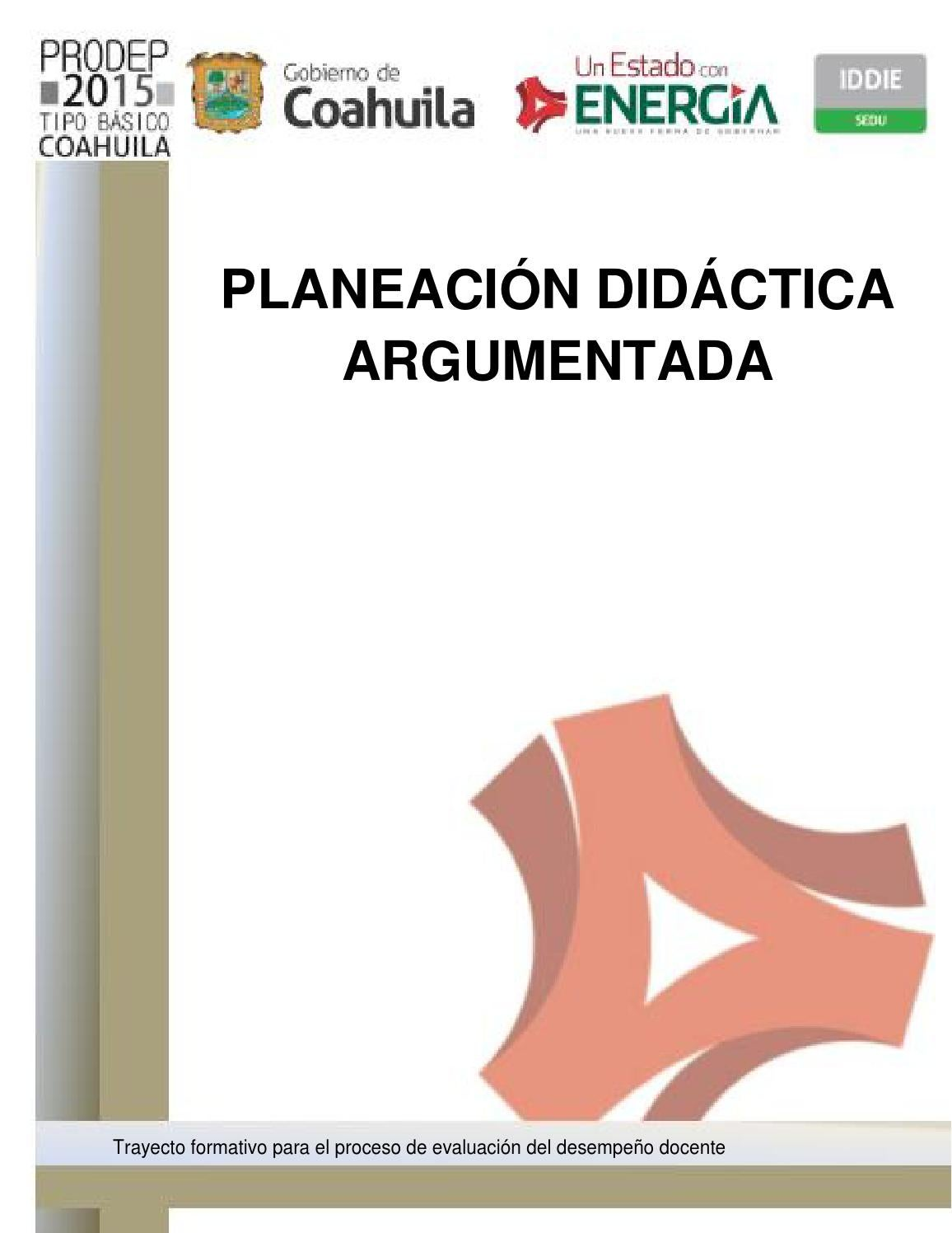 Planeación didáctica argumentada by Abigail Juarez Maruri - issuu