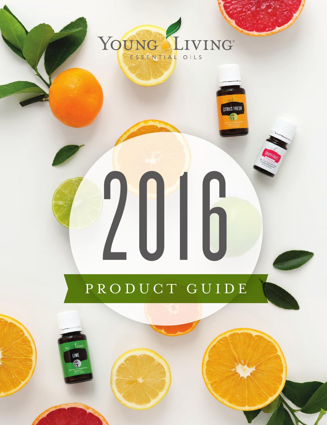 2016 Product Guide V 1 By Young Living Essential Oils Issuu