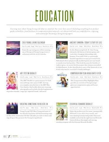 young living compensation plan