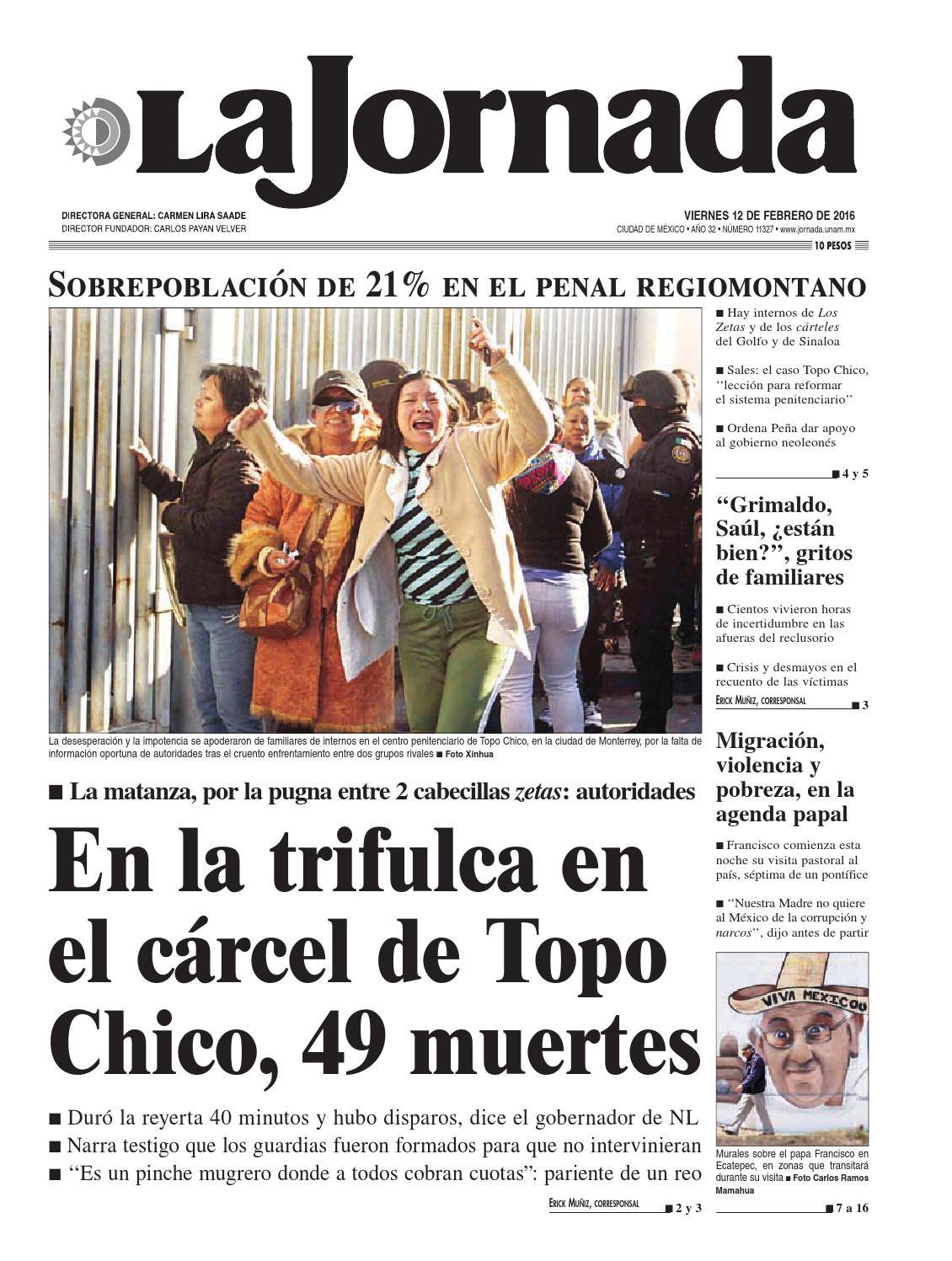 La Jornada 02 12 2016 By La Jornada Issuu