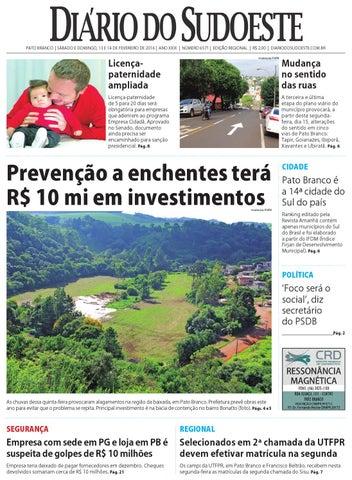 12b9423525d Diário do sudoeste 13 e 14 de fevereiro de 2016 ed 6571 by Diário do ...
