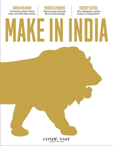 4db1f542b1e Make In India Magazine by Condé Nast India - issuu