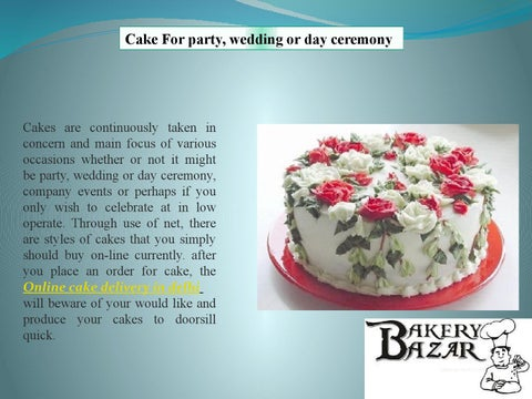 Cake For Party Wedding Or Day Ceremony
