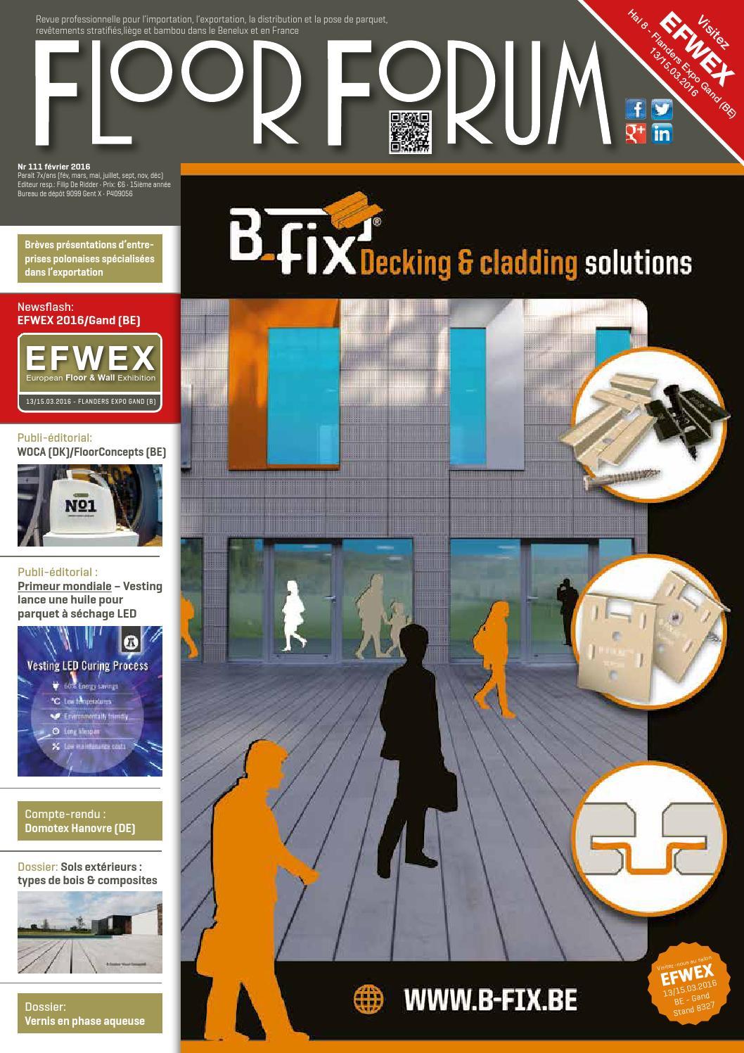 Bois Rétifié Prix M2 ff 111 février 2016media-pact nv / ffi bvba - issuu