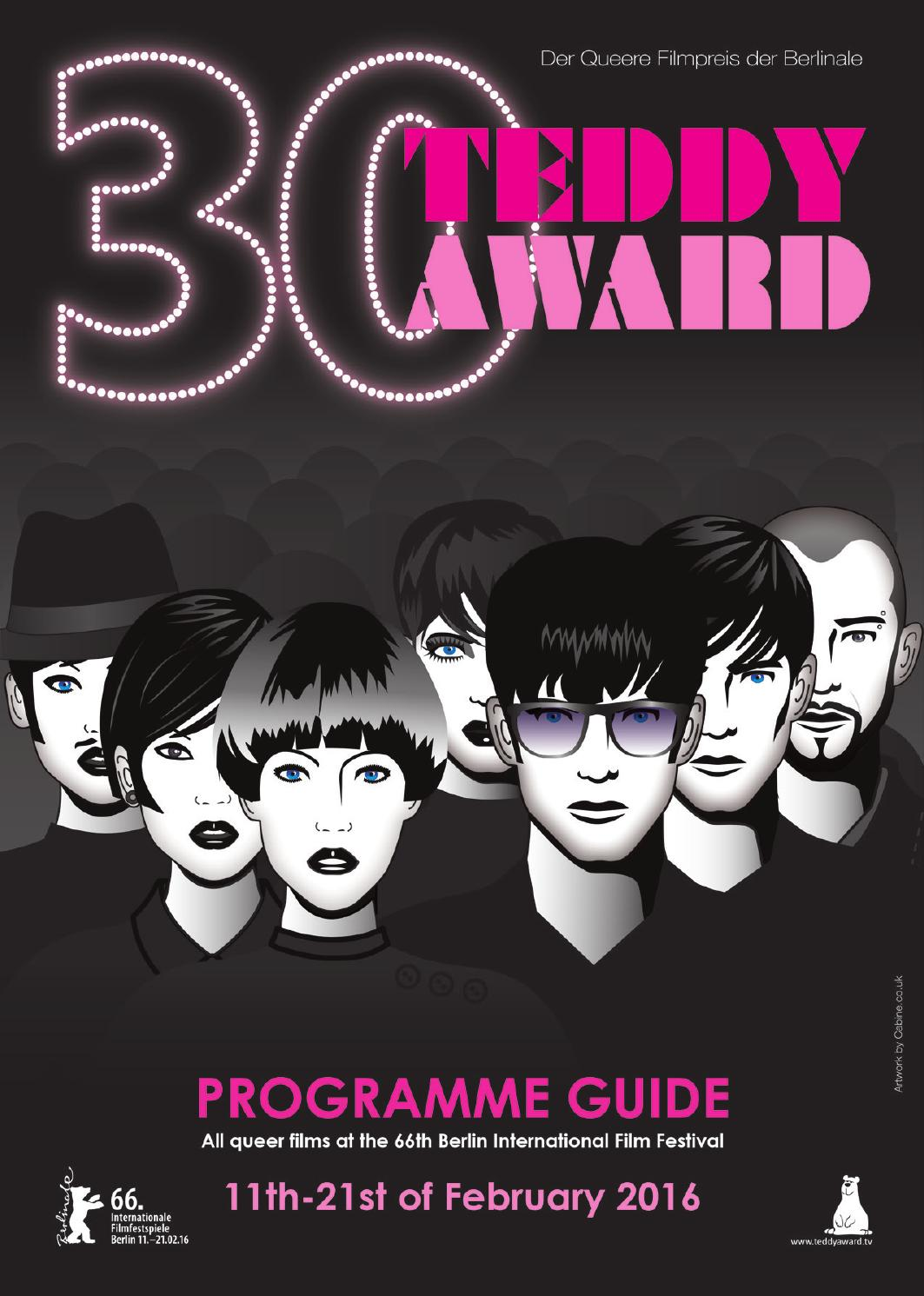 TEDDY AWARD Programme Guide 2016 by TEDDY AWARD, Queer Film Award ...