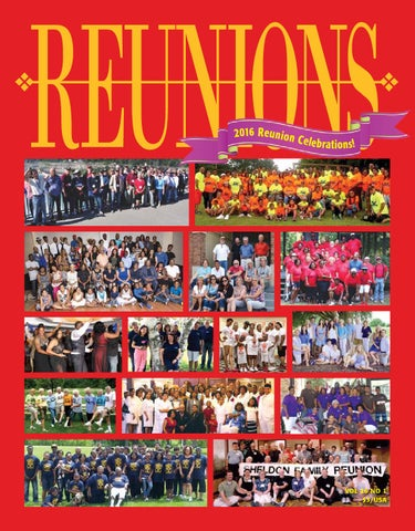 bfef4d647 Reunions Magazine Volume 26, Number 1. Reunion Celebrations Issue ...
