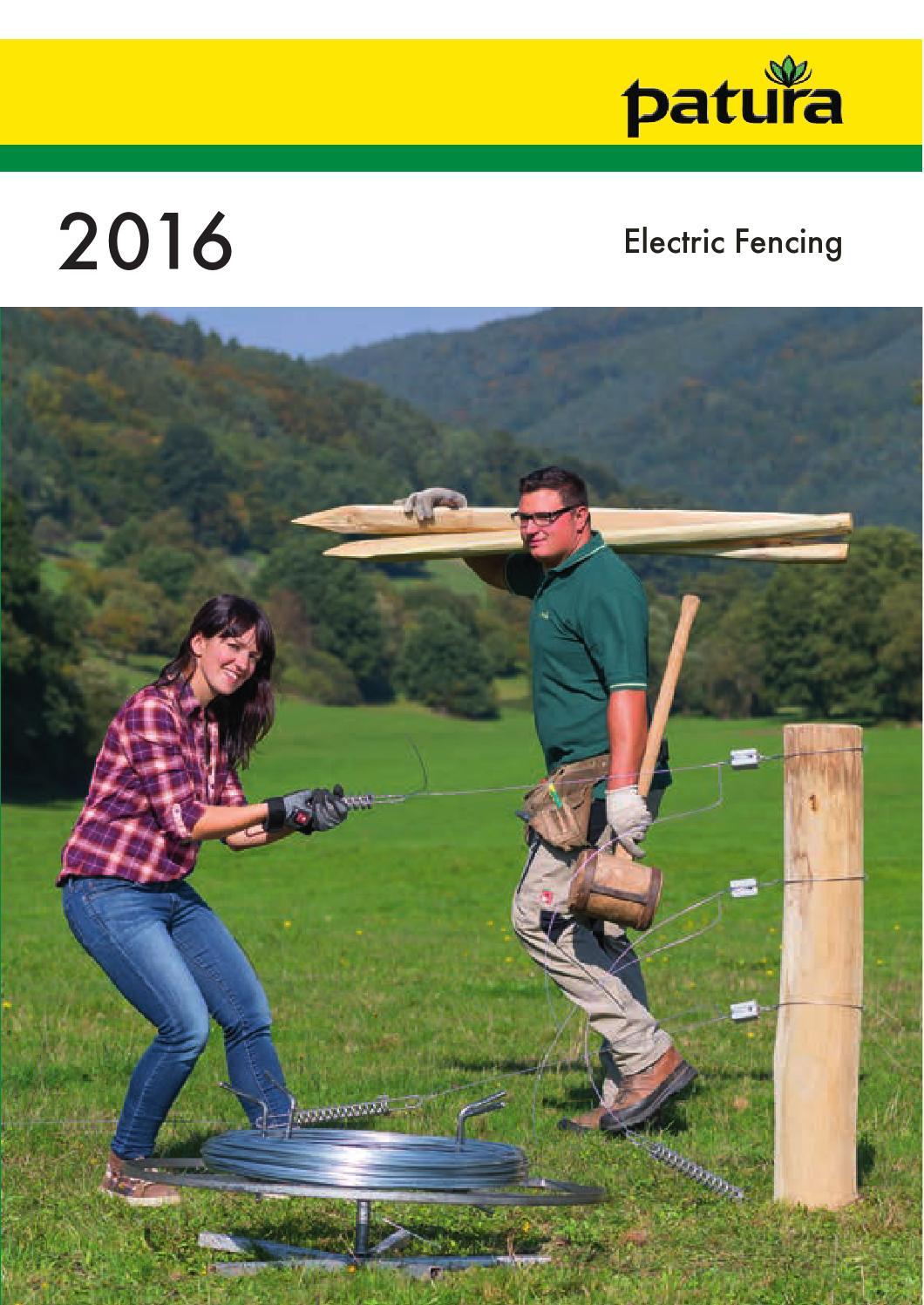 147310 Patura® P3 Multi Voltage Energiser for Electric Fences