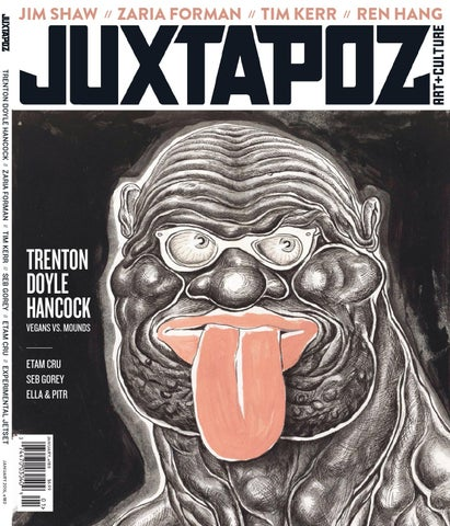 3b8c7eef9c98 Juxtapoz Art   Culture January 2016 by Juxster - issuu