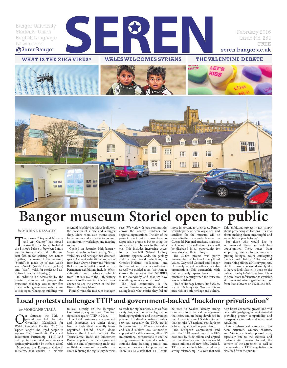 Seren - 252 - 2015/16 - February Issue by Seren - issuu