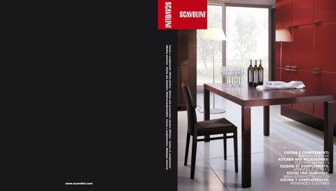 Scavolini Tavoli Da Cucina.Scavolini Chairs Tables Stools By Accento Kbb Issuu