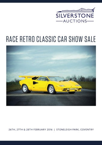 RACE RETRO CLASSIC CAR SHOW SALE By Caroline Smith / Peninsula ...