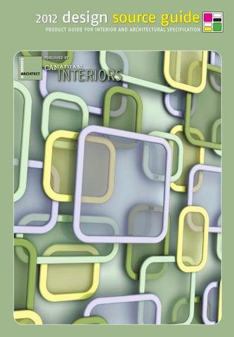 a0fa01c4b1 Design Source Guide 2012 by IQ Business Media - issuu