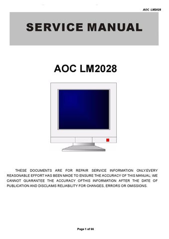 AOC LM-500V LCD MONITOR WINDOWS 8 DRIVERS DOWNLOAD