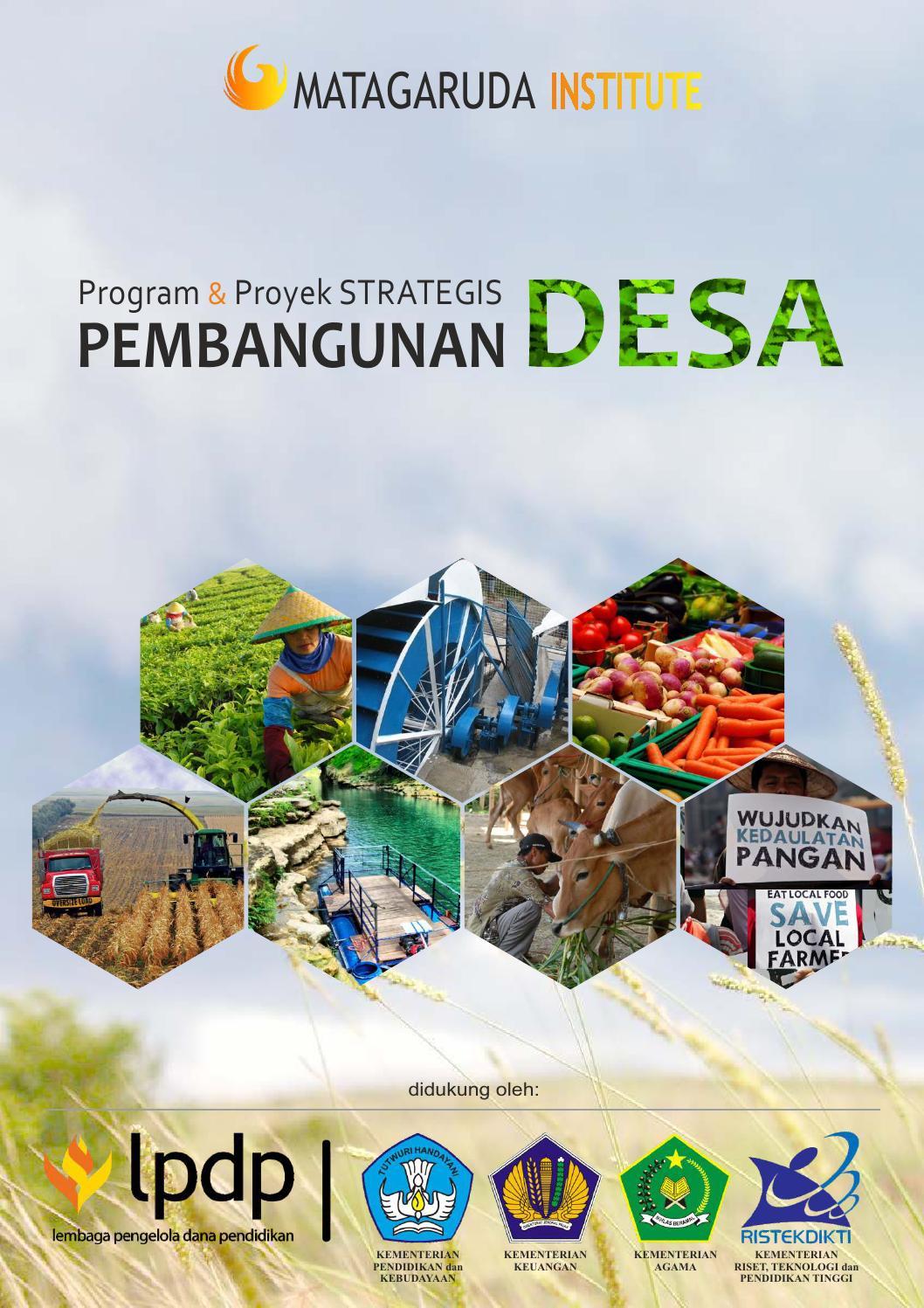 Buku Program dan Proyek Strategis Pembangunan Desa by Mata Garuda Institute  - issuu 11ede02e25