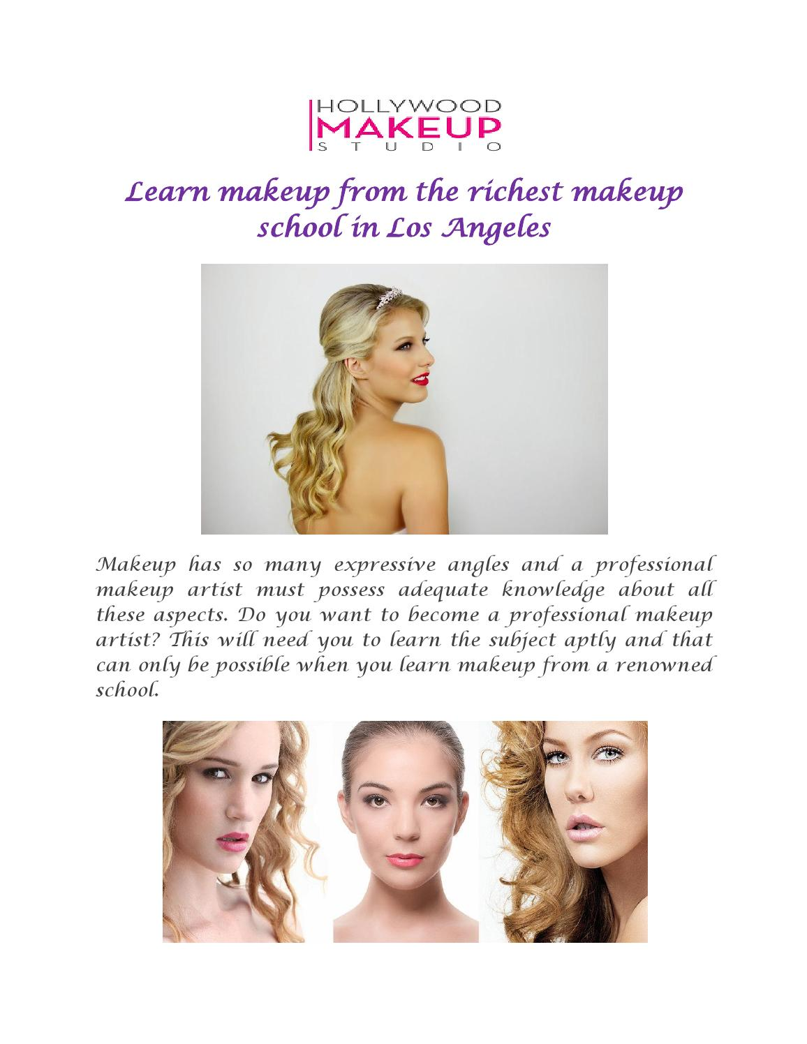Richest Makeup School In Los Angeles