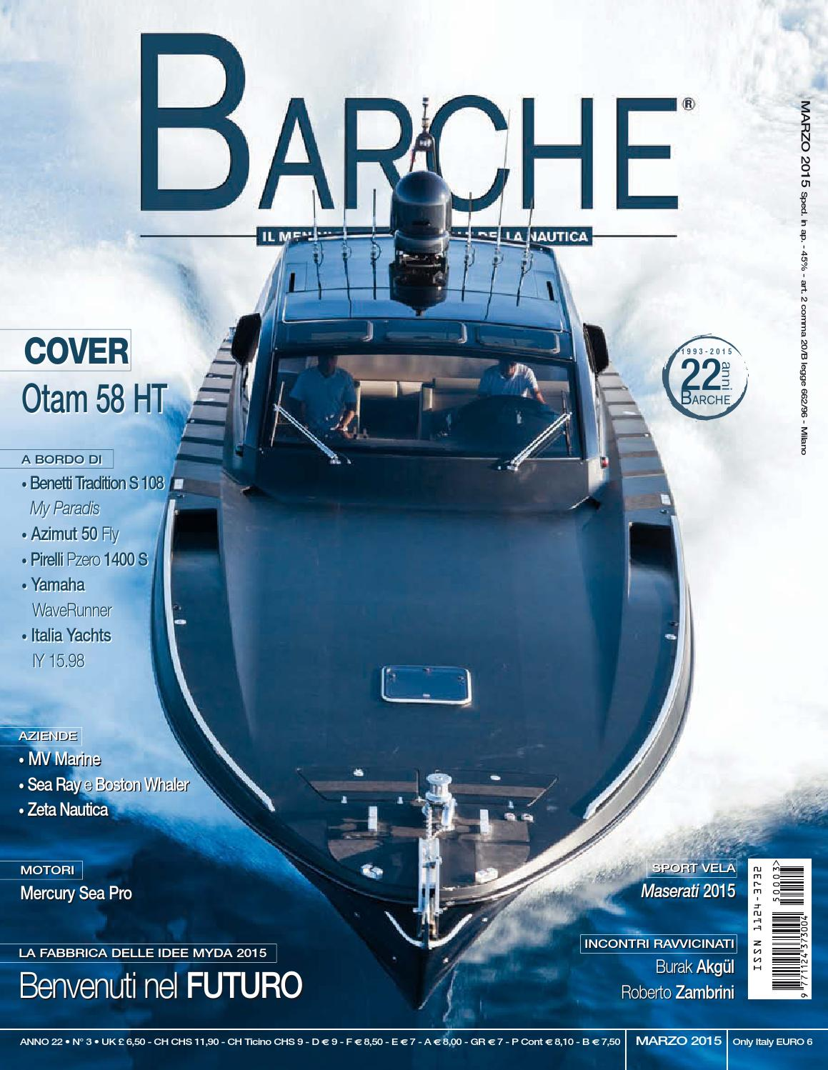 BARCHE March 2015 by INTERNATIONAL SEA PRESS SRL - BARCHE - issuu 01fc787bcd8