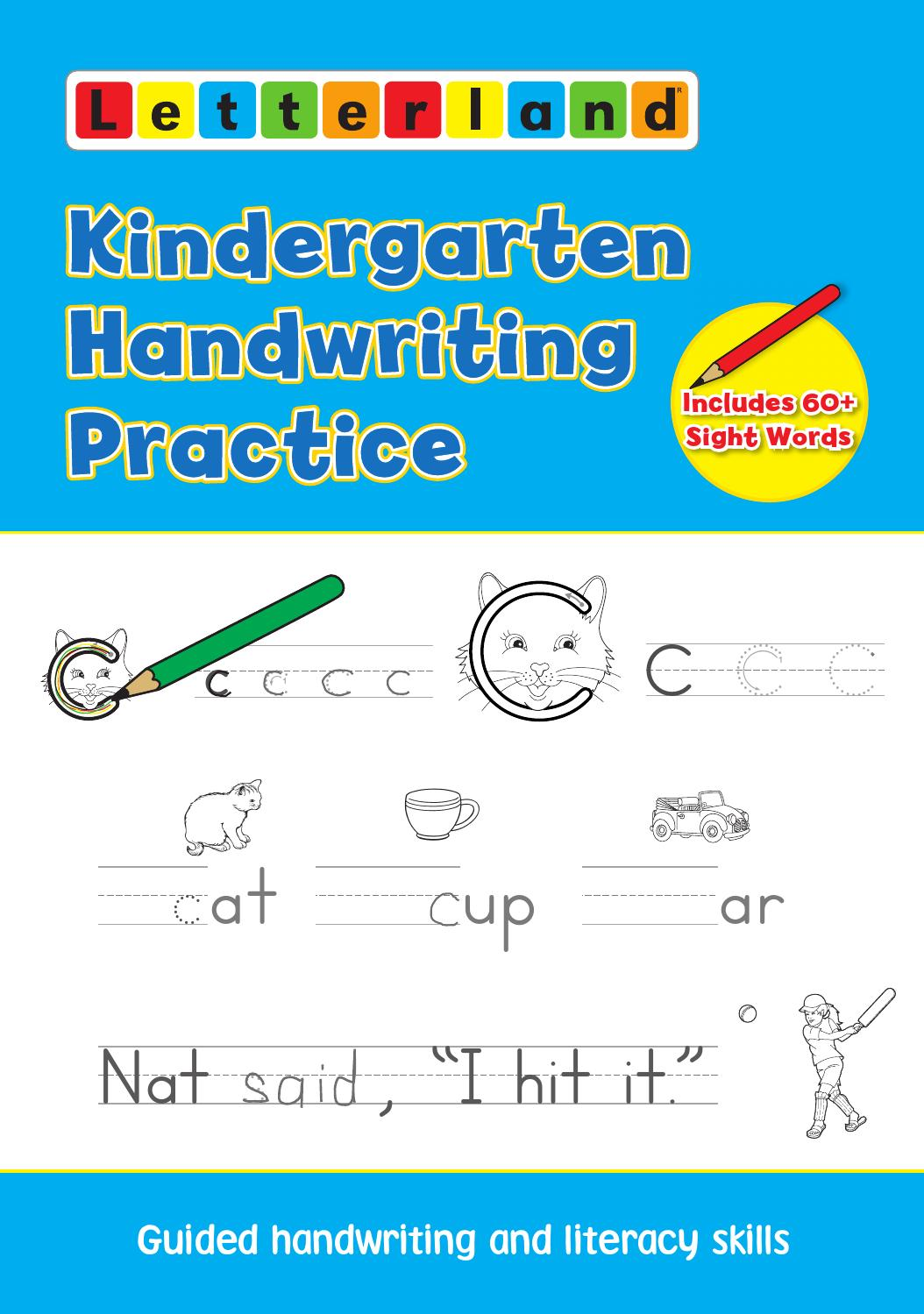 Kindergarten Handwriting Practice by Letterland - issuu