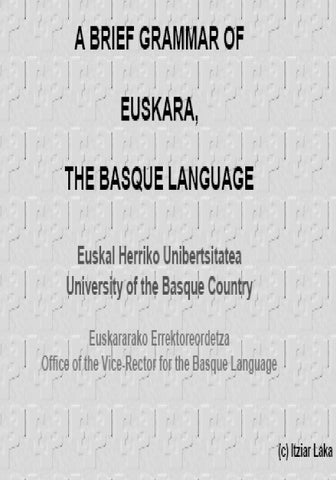 basque phonology