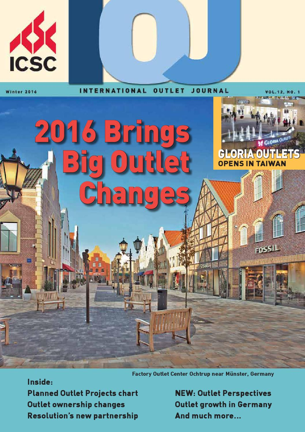 international outlet journal 2016 by fsp retail business. Black Bedroom Furniture Sets. Home Design Ideas