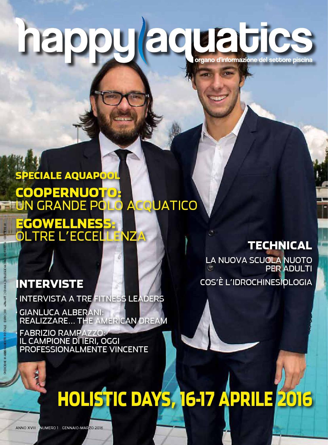 Happy Aquatics n.1 anno 2016 - ITA by Happy Aquatics   Wellness - issuu 942415607cda
