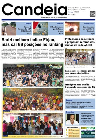 ee10eab3510f9 Jornal candeia 13 02 2016 by Jornal Candeia - issuu