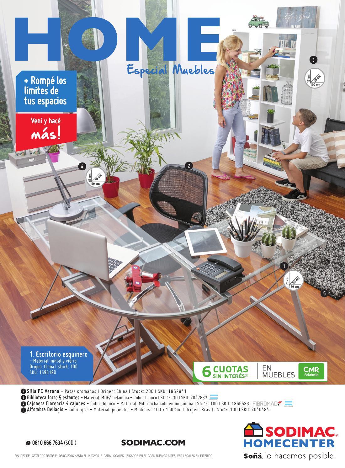 Sodimac Homecenter - Catálogo Febrero 2016 by Sodimac - issuu