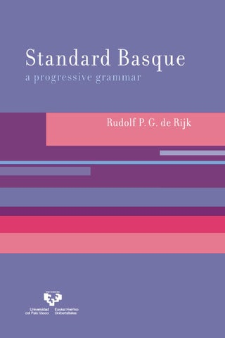 Standard basque progressive grammar part1of4 by N D - issuu