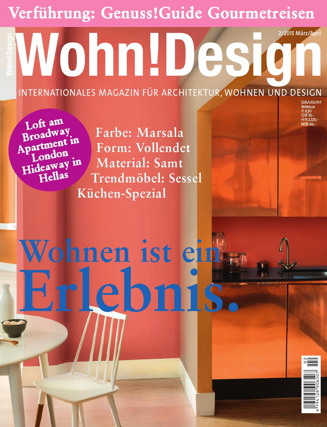 Wohn!Design 2/2015 by Wohn!Design - issuu