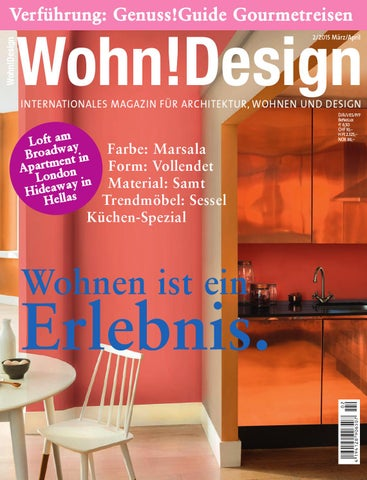 1b186b810265b Wohn!Design 2 2015 by Wohn!Design - issuu