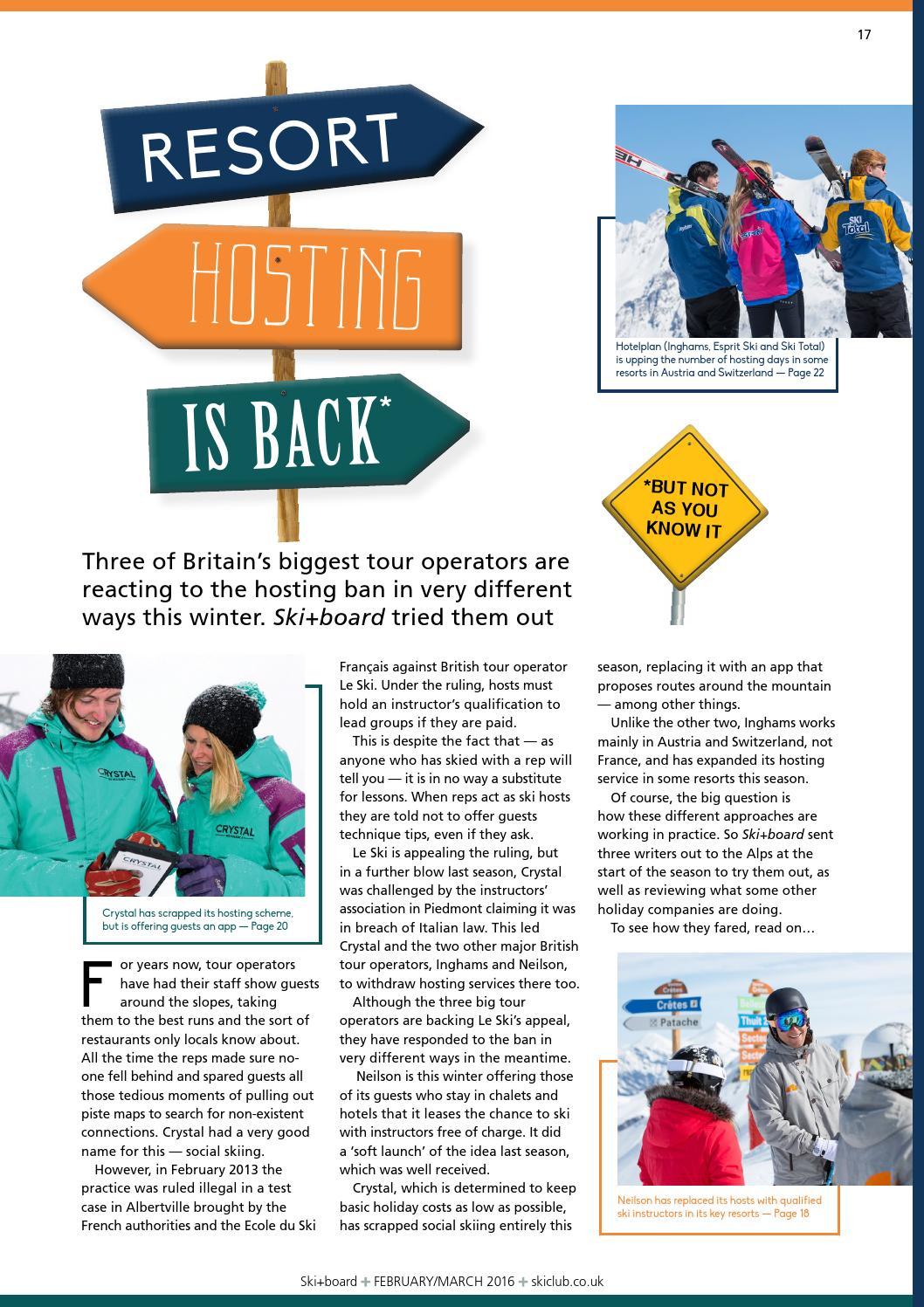 Ski+board February/March 2016 by Ski Club of Great Britain - issuu