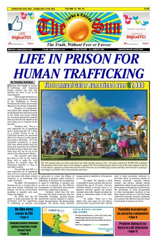 3f8293d76fcc VOLUME 12 ISSUE 05 by The SUN Newspaper - issuu