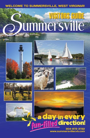 Summersville Visitor Guide 2016 By Jim Stallard Issuu