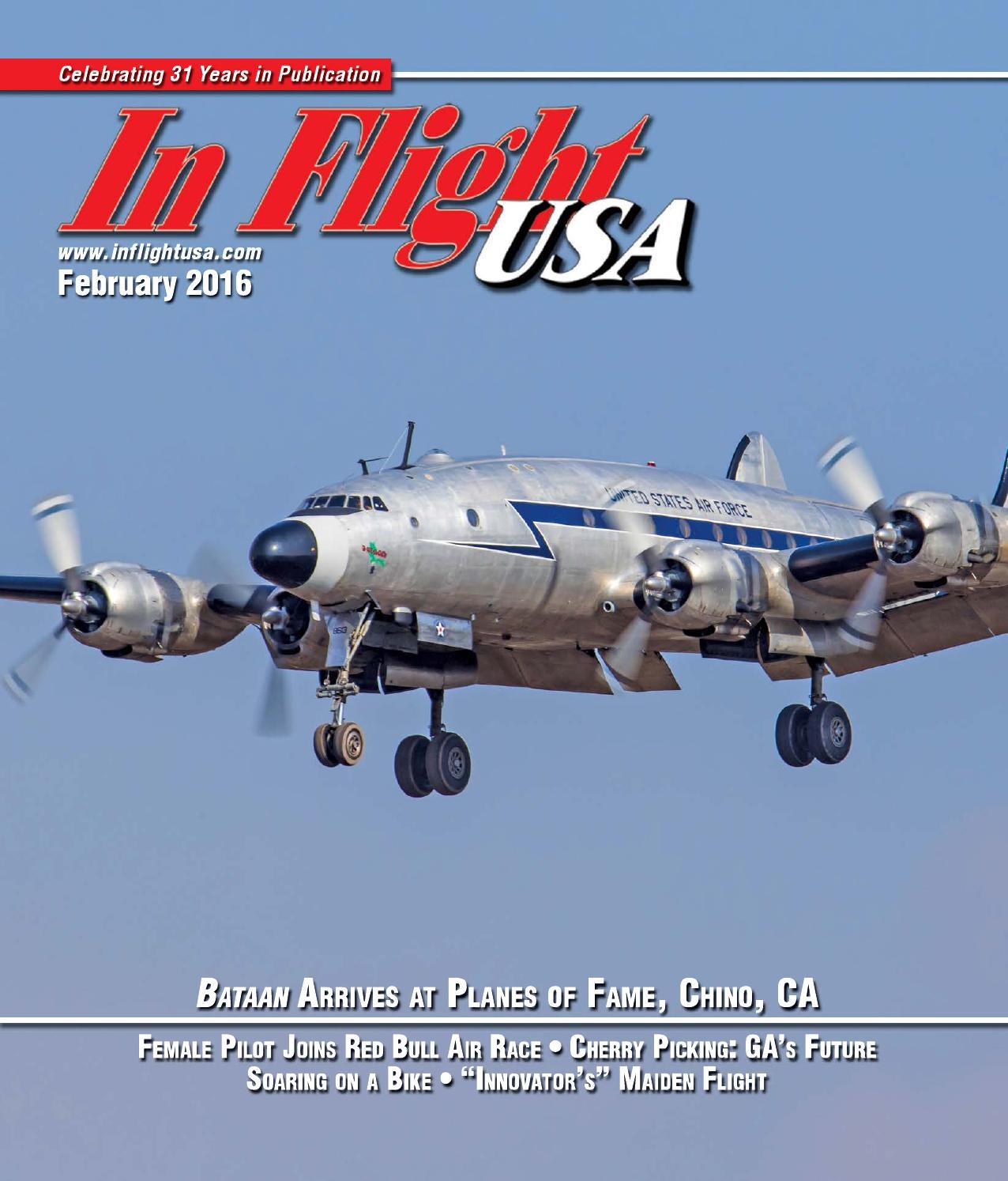 In Flight Usa February 2016 By Anne Dobbins Issuu 1987 Gulfstream Wiring Diagram
