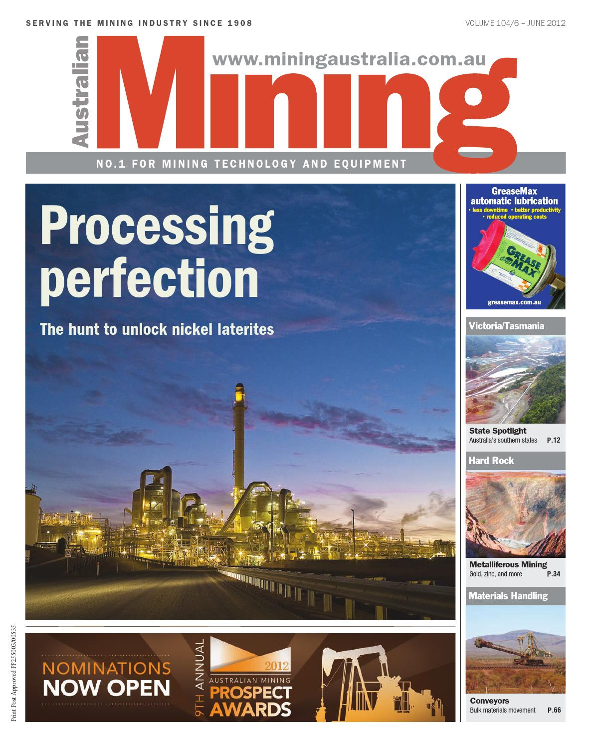 Australian Mining June 2012 By Primecreative Issuu Digital Control Lab Ag Sag Ball Mill Optimization And Process