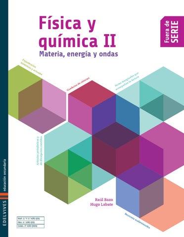 75868260d6 EDELVIVES Física y Química II - Libro del alumno by Edelvives ...