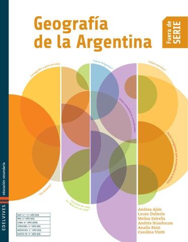 Edelvives Geograf A De La Argentina Libro Del Alumno By