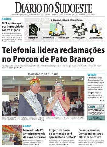 69ac24923a Diário do sudoeste 16 de fevereiro de 2016 ed 6572 by Diário do ...