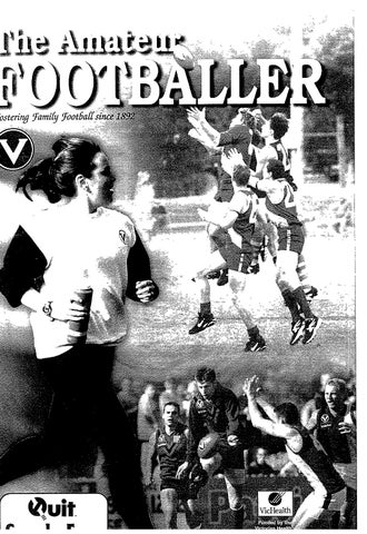 The Amateur Footballer, Week 5, 2000 by Andrew Leonard issuu