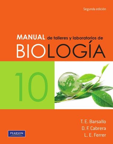 Manual de talleres y laboratorios de biologia 10 barsallo by Paginas ...