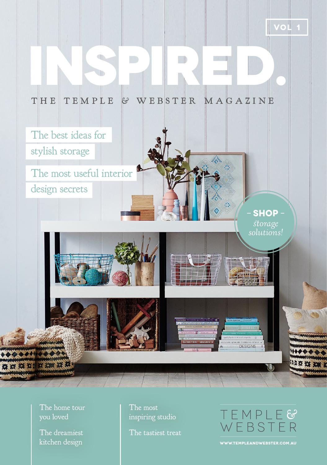 INSPIRED The Temple Webster Magazine By