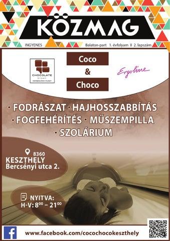 """Cover of """"KÖZMAG Középiskolások Magazinja - Balaton-part - 2016-02"""""""