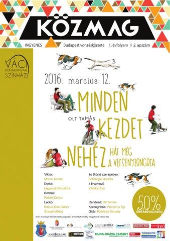 """Cover of """"KÖZMAG Középiskolások Magazinja - Budapest vonzáskörzete - 2016-02"""""""