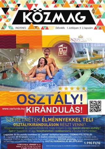 """Cover of """"KÖZMAG Középiskolások Magazinja - Délvidék - 2016-02 – Szeged"""""""